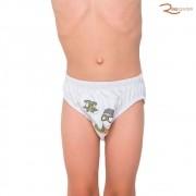 Kit de Cueca Sonhart Infantil 3 Peças Algodão Estampado