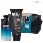 Kit Farmaervas Urban Men Deo Colônia + Gel de Babear + Necessaire