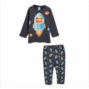 Pijama Longo Astronauta Kyly Marinho