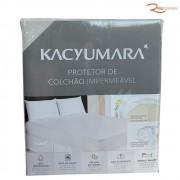 Protetor de Colchão Kacyumara Impermeável Solt Plus Branco