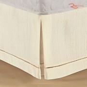 Saia Box Juma Classic Rústica Casal Branco
