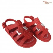 Sandália World Colors Mini Drops Feminino Baby Coral