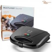 Sanduicheira Multilaser Gourmet Minigrill Antiaderente 220V/750W