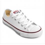 Tênis All Star Lona Converse Branco Infantil Ck0001