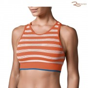 Top Lupo Sport Stripes Laranja/Off-white
