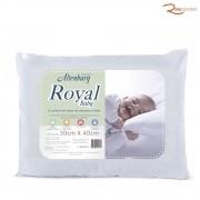 Travesseiro para Bebê Royal Baby Branco - 30X40cm