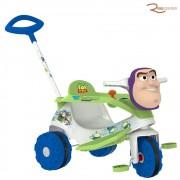 Triciclo Bandeirante Buzz Lightyear Com Empurrador