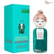 United Colors Sisterland Benetton Green Jasmine Eau de Toilette - 80ml