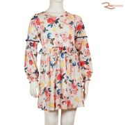 Vestido Colorita Malha Com Elastano
