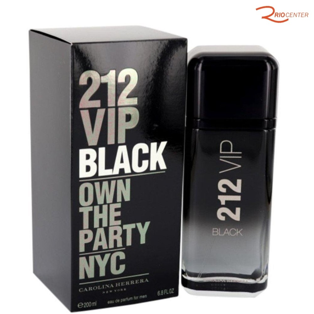 212 Vip Black Carolina H. Eau de Parfum - 200ml
