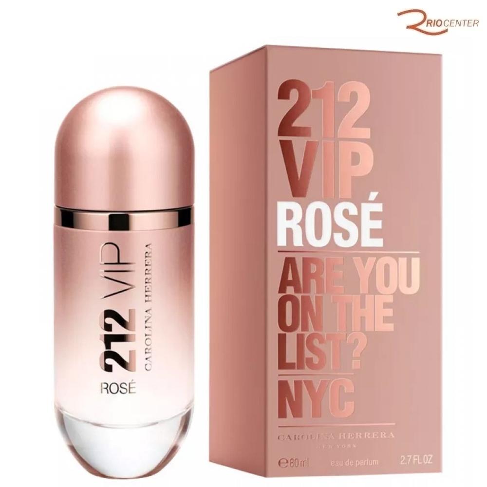 212 Vip Rosé Carolina Herrera Eau de Parfum - 80ml