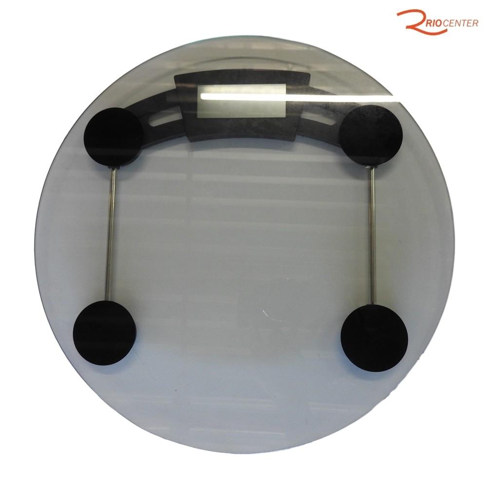 Balança de Banheiro Mimo Style Clear Capacidade de 180 Kg