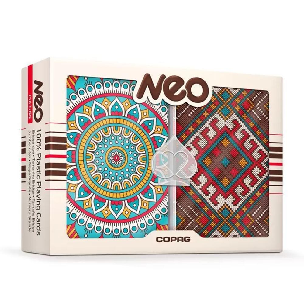 Baralho de Plástico Neo Culture Copag +3a