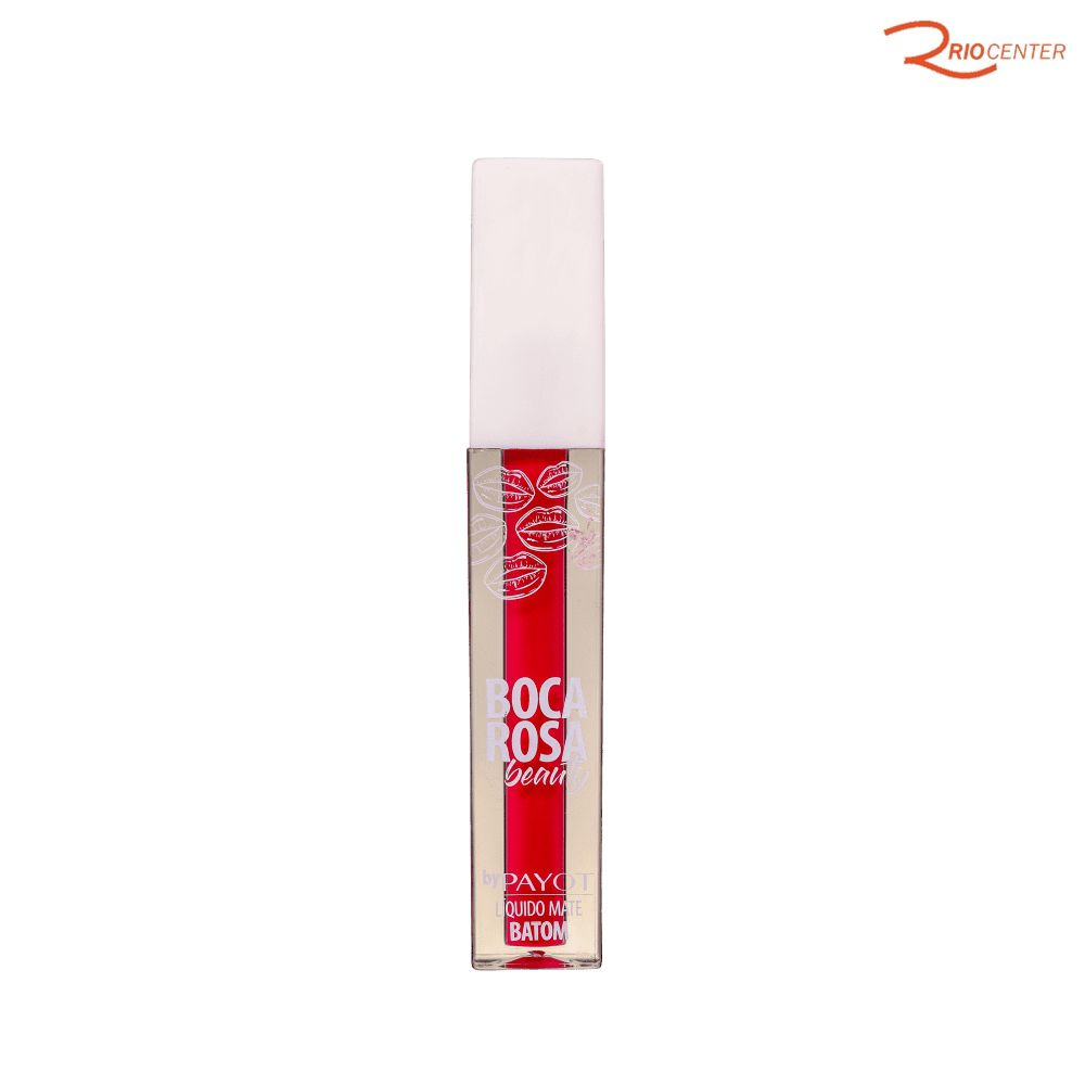 Batom Líquido Boca Rosa Beauty Payot Flamingo - 4ml