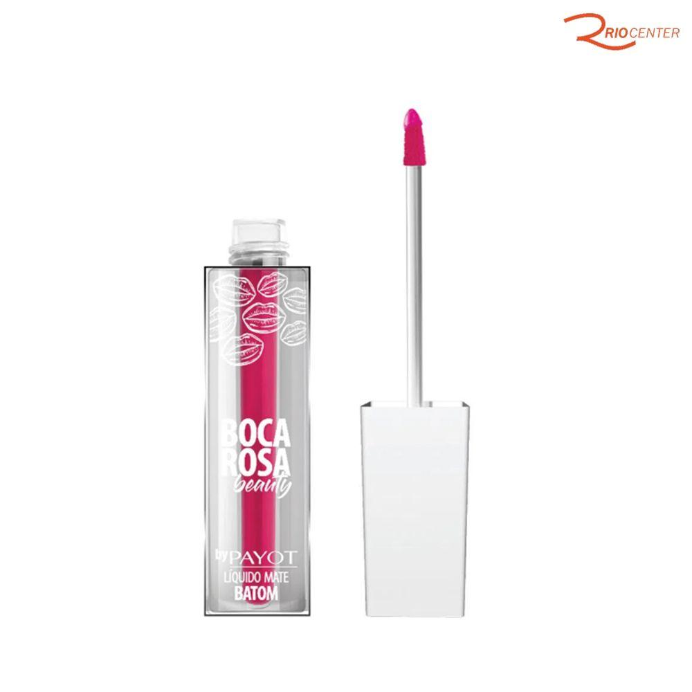Batom Líquido Boca Rosa Beauty Payot Shock - 4ml