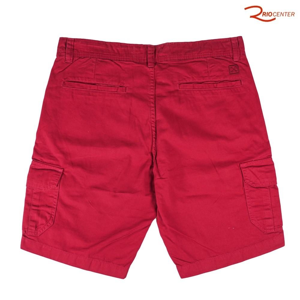 Bermuda Dommer Sport Wear Cargo Vermelha