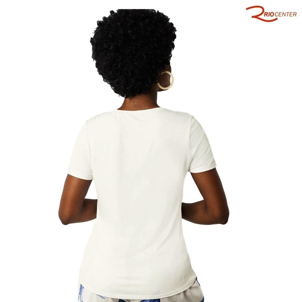 Blusa Lunender de Malha Mvs Thirty Plus Branco Off White
