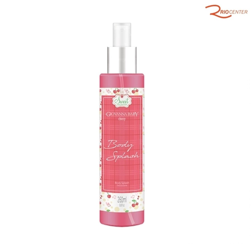 Body Splash Desodorante Corporal Giovanna Baby Cherry - 260ml