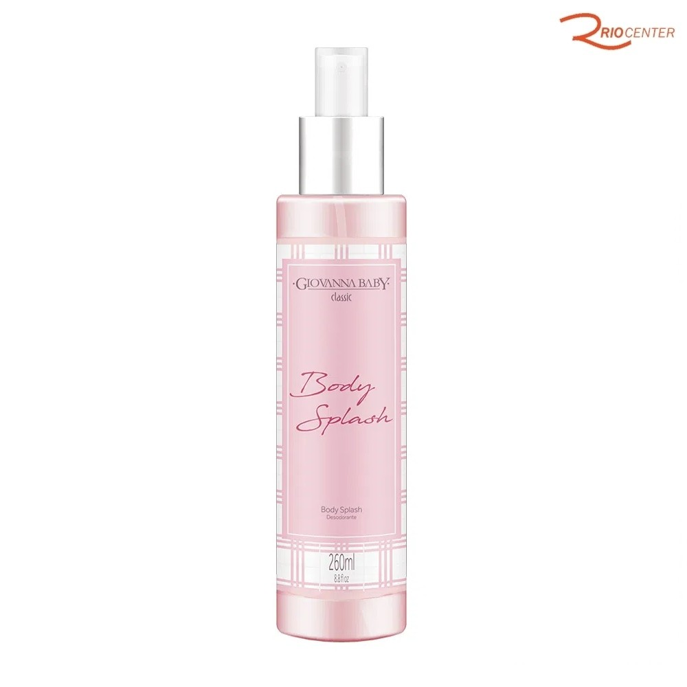 Body Splash Desodorante Corporal Giovanna Baby Classic - 260ml