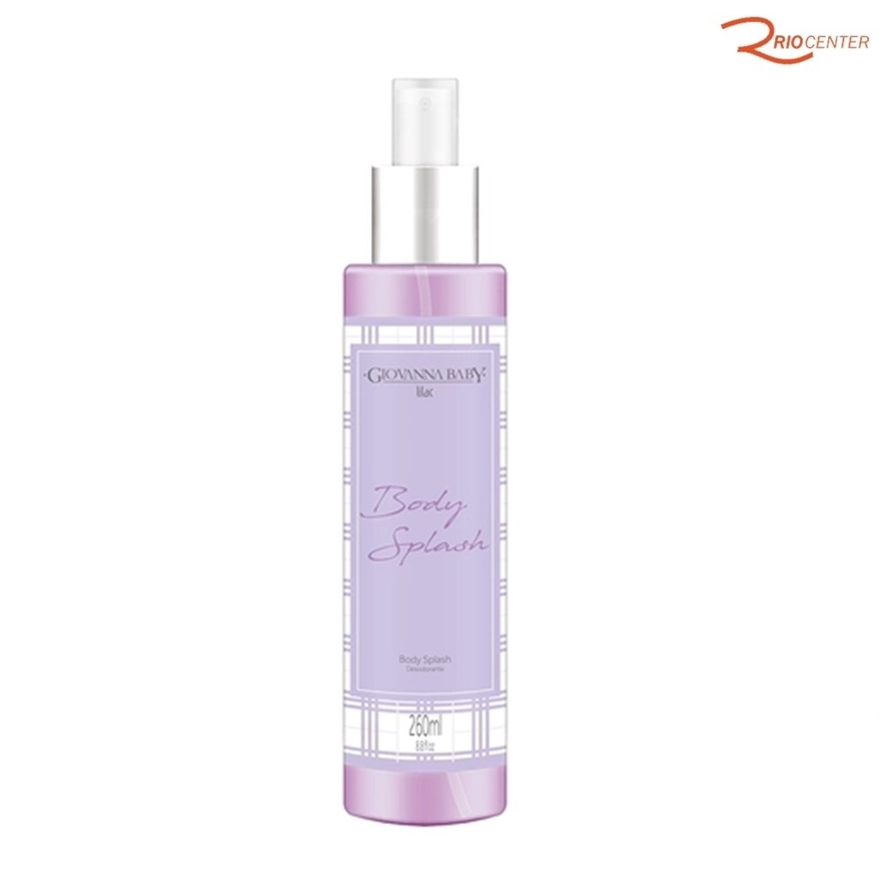 Body Splash Desodorante Corporal Giovanna Baby Lilac - 260ml