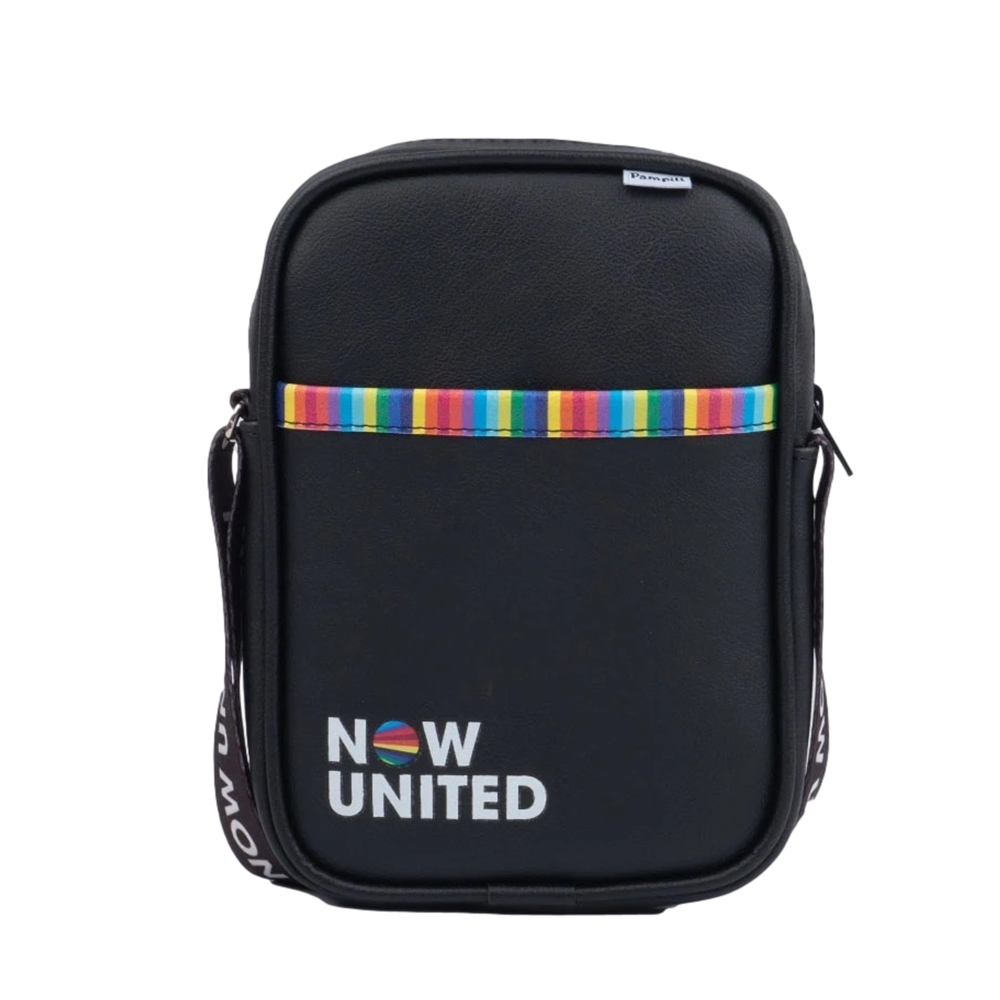 Bolsa Infantil Tiracolo Now United by Pampili  Preta