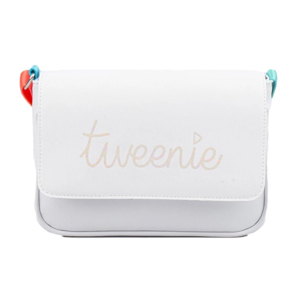 Bolsa Tiracolo Infantil Tweenie Real Zone com Alça Colorida Branca