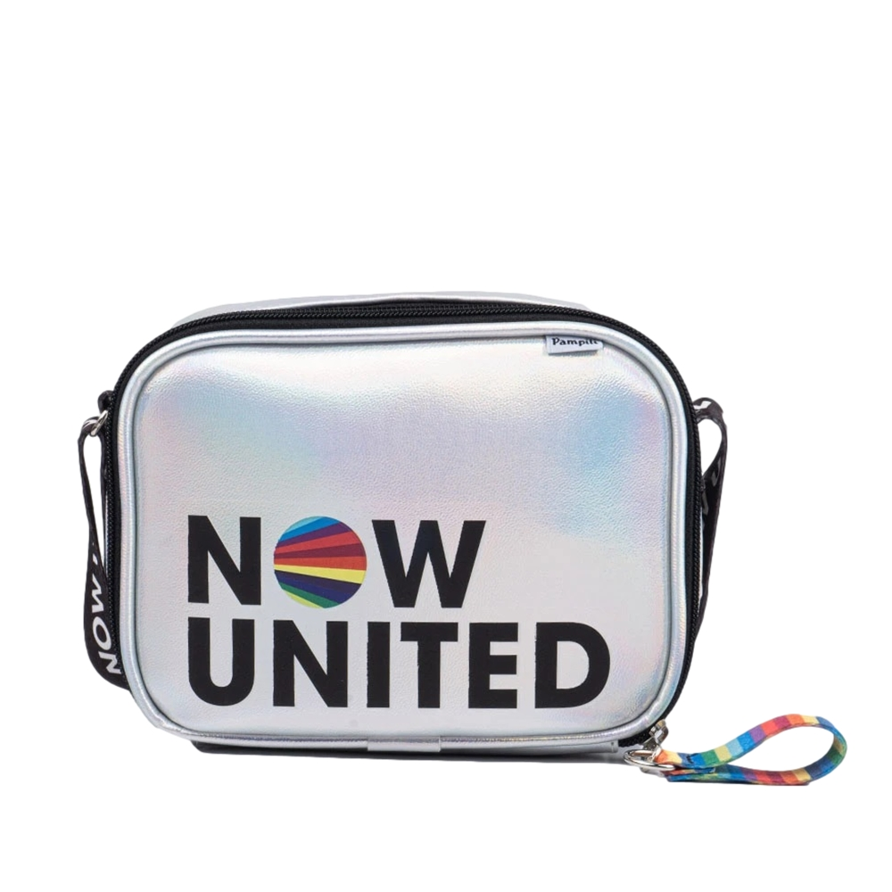 Bolsa Tiracolo Now United by Pampili Prata