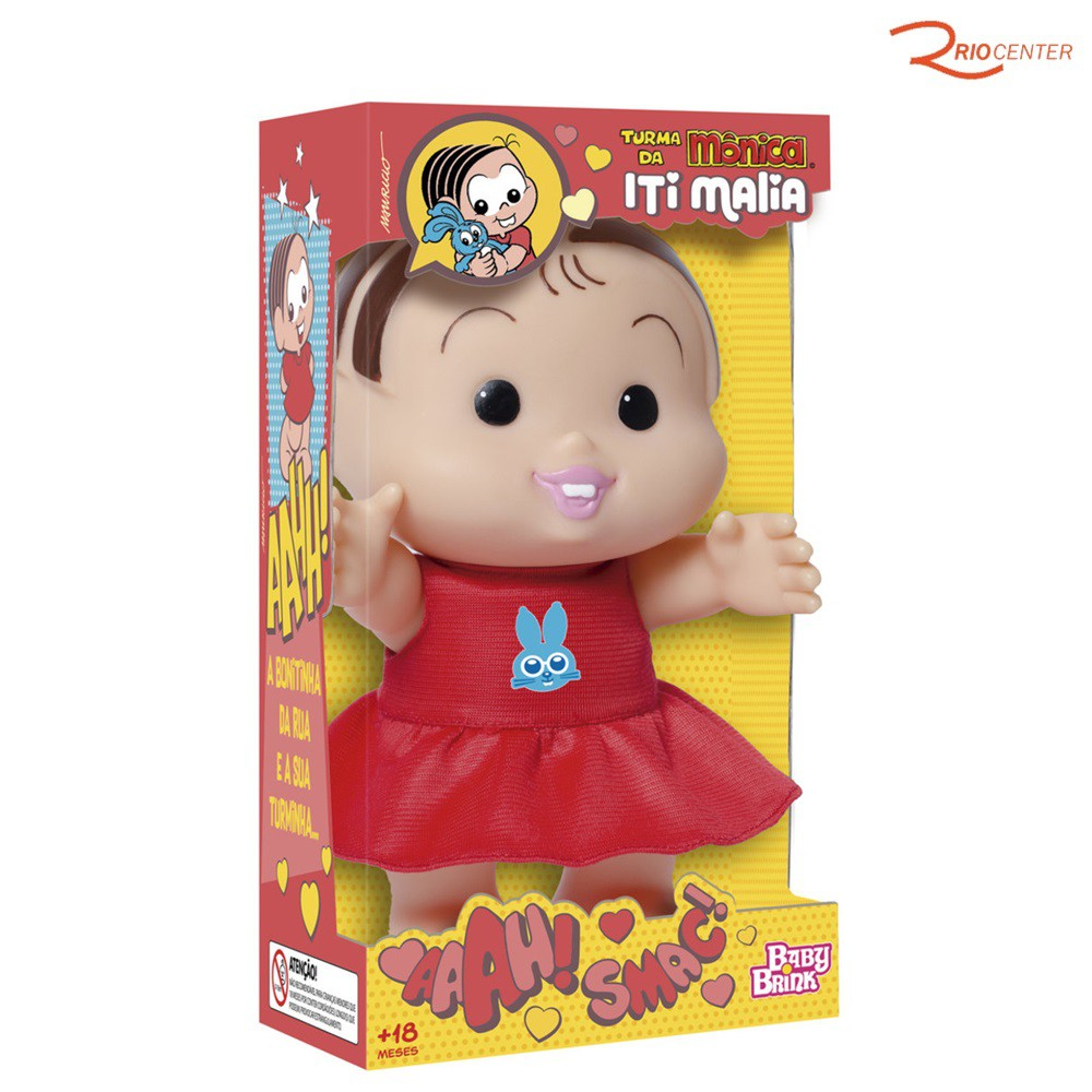 Mônica Iti Malia Baby Brink + 18m