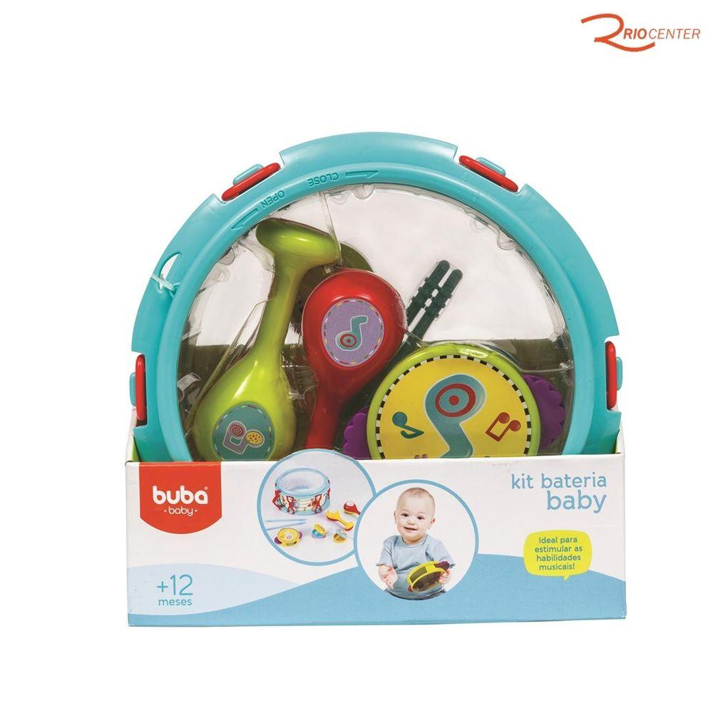 Brinquedo Buba Kit Bateria Baby +12m
