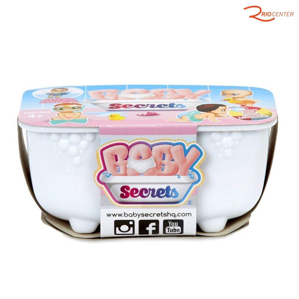 Brinquedo Candide Boneca Baby Secrets +3a