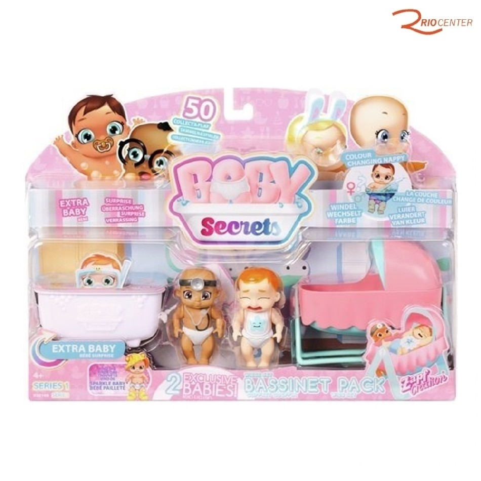 Brinquedo Candide Boneca Baby Secrets +4a