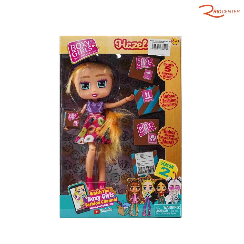 Brinquedo Candide Boneca Boxy Girl Hazel +6a