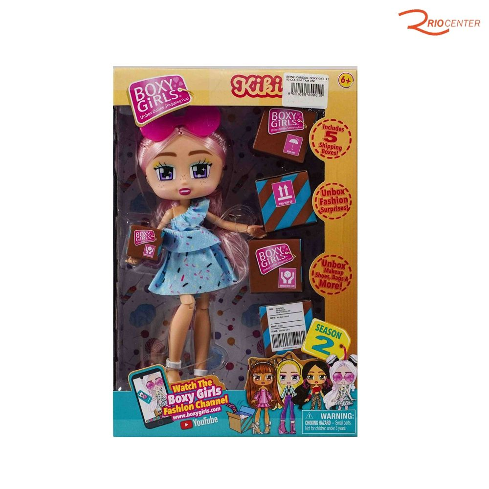 Brinquedo Candide Boneca Boxy Girl Kiki +6a