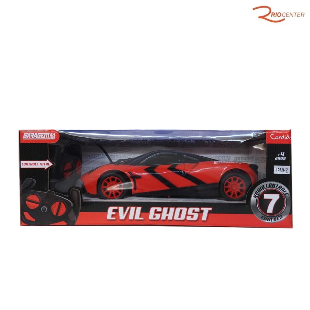 Brinquedo Candide Garagem S.A Veículo Evil Ghost +4a