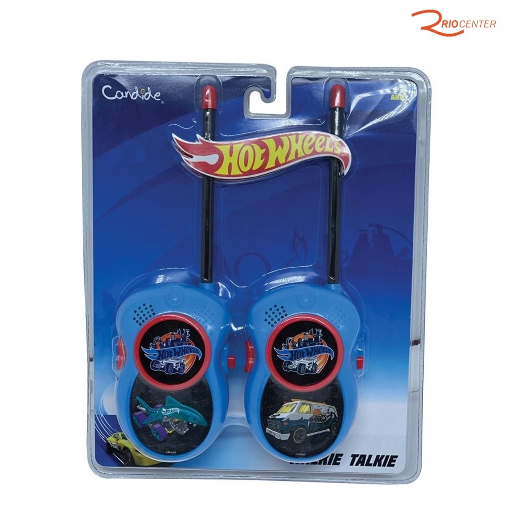 Brinquedo Candide Hot Wheels Walkie Talkie +3a
