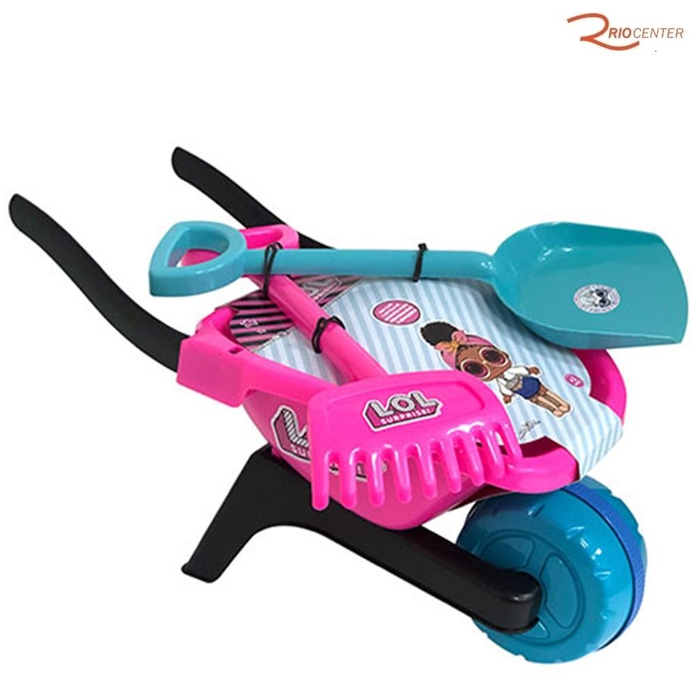 Brinquedo Candide Lol Carriola de Jardinagem +3a