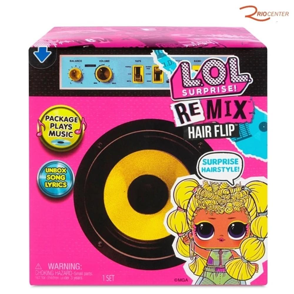 Lol Surprise! Remix Hair Flip Candide +3a