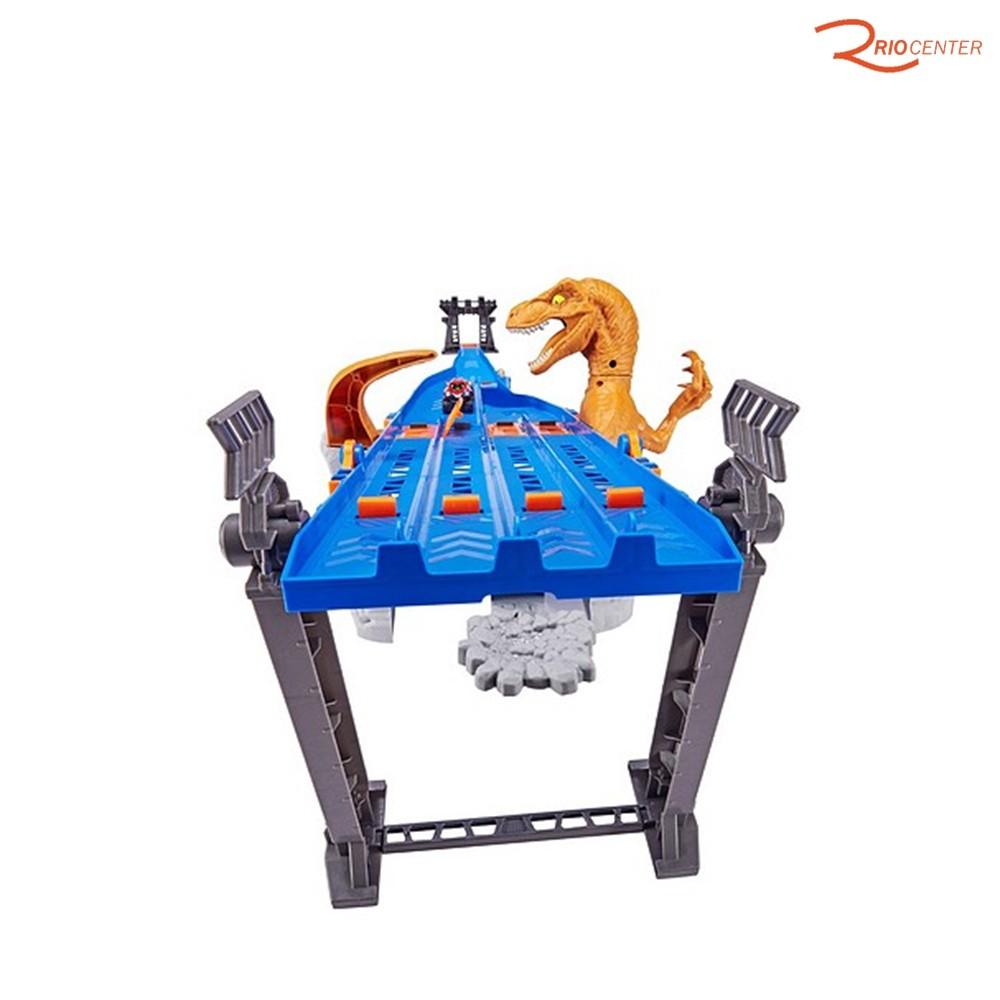 Brinquedo Candide Metal Machines Pista 4-Lane Raptor Attack +4a