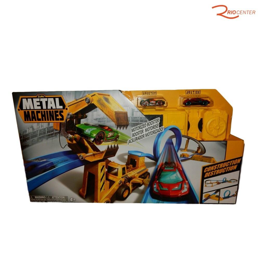 Brinquedo Candide Metal Machines Pista Construction Destruction +4a