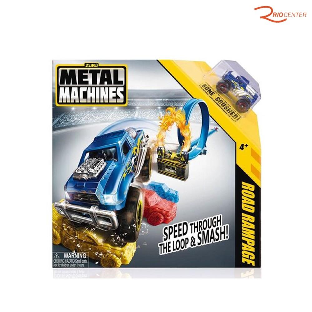 Brinquedo Candide Metal Machines Pista Road Rampage +4a