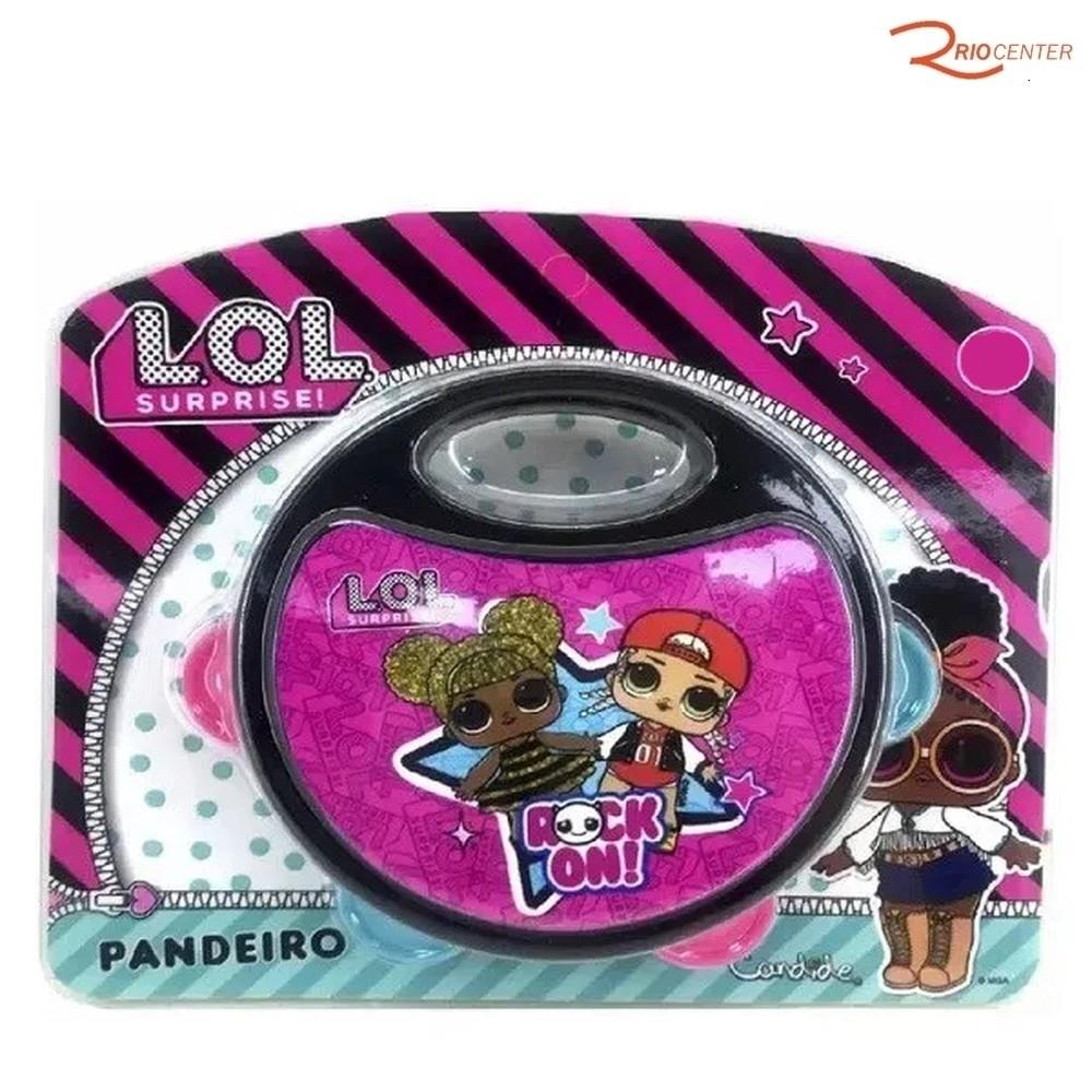 Brinquedo Candide Pandeiro Infantil de LOL Surprise +12m