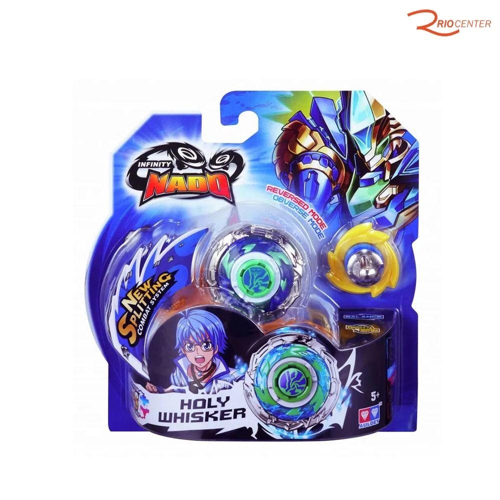Brinquedo Candide Pião Infinity Nado Standard Serie Super Whisker +5a