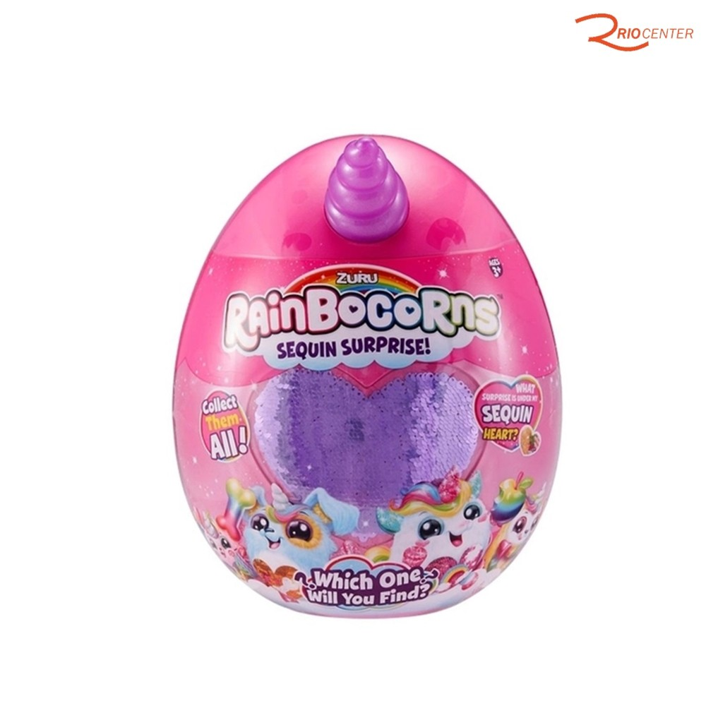 Brinquedo Candide Rainbocorns Sequin Surprise +3a