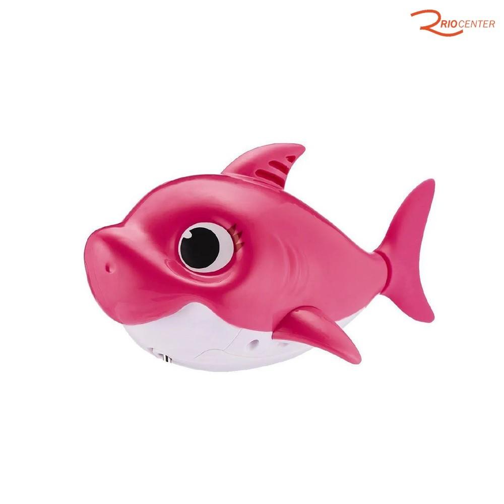 Brinquedo Candide Robo Alive Baby Shark Rosa +18m