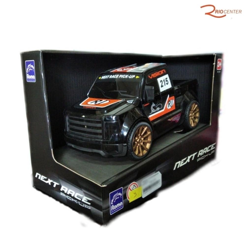 Brinquedo Carro Roma Next Race Pick-up Preto +3a