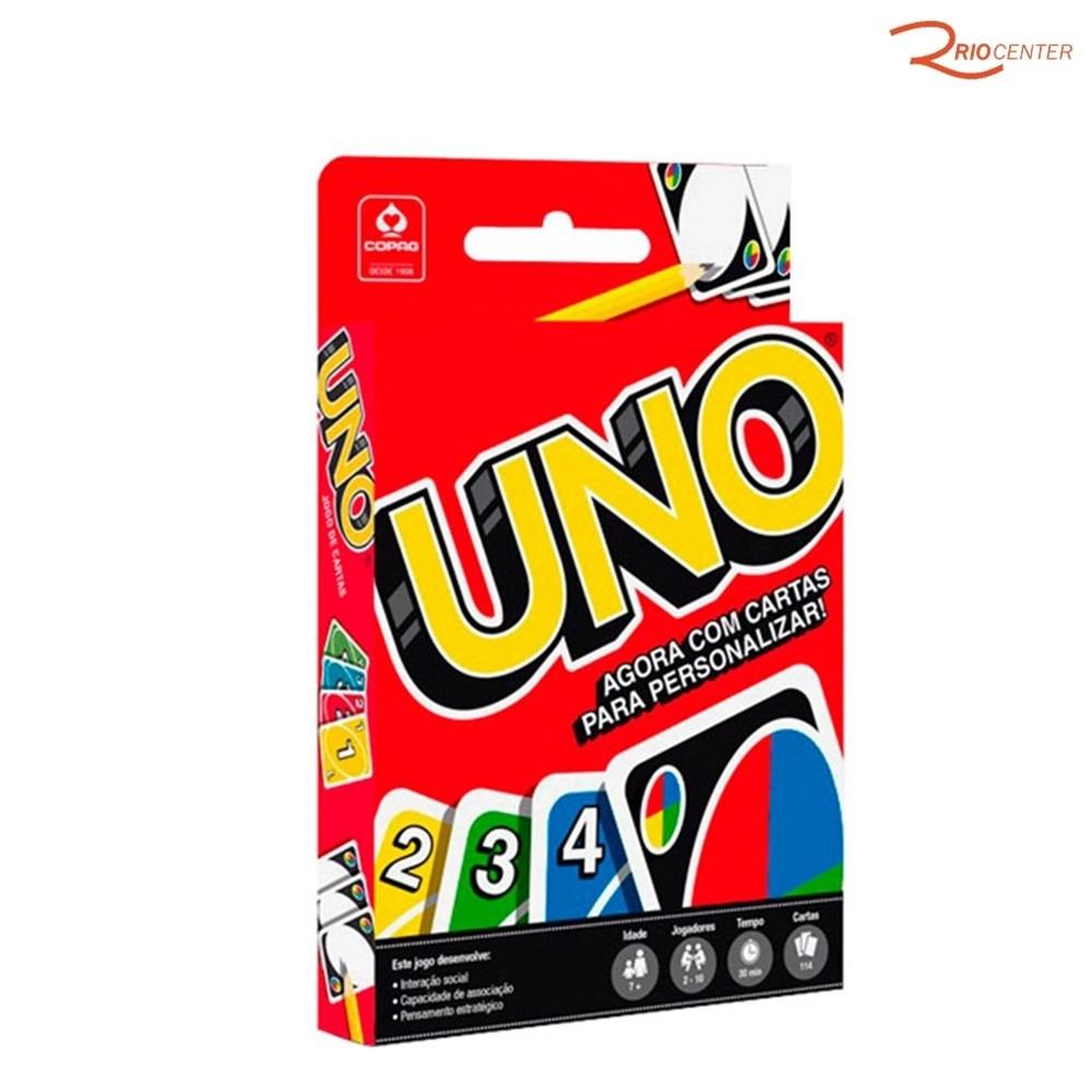 Brinquedo Copag Jogo Uno +3a