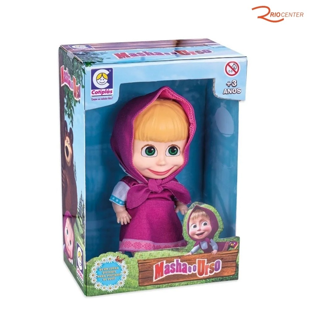Brinquedo Cotiplás Boneca Masha +3a
