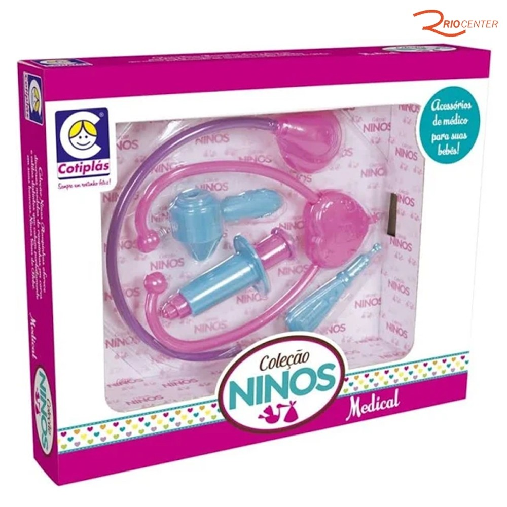 Brinquedo Cotiplás Coleção Ninos Medical +3a