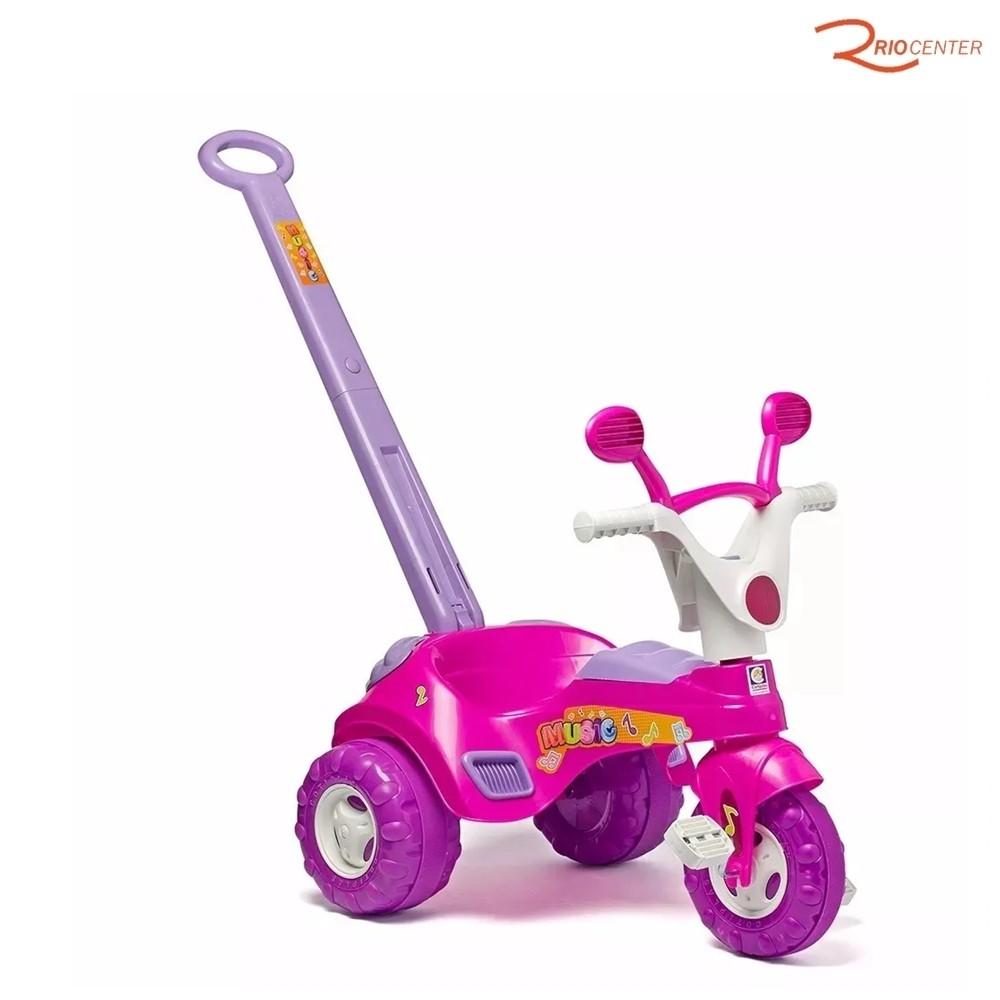 Brinquedo Cotiplás Triciclo Baby Music +18m
