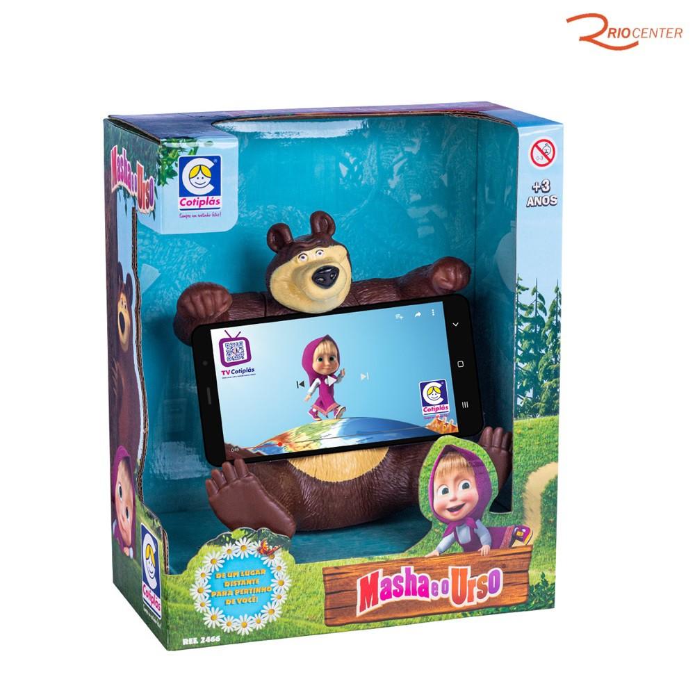 Brinquedo Cotiplás Urso da Masha +3a